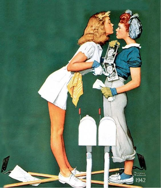 confrontation - rockwell