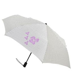 Delta Polka dot umbrella, i would HATE to get wet going to class.