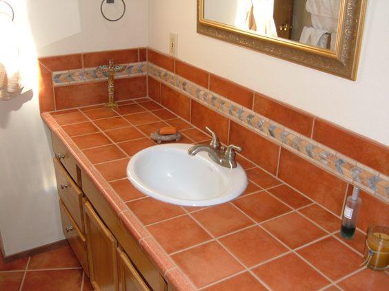 Bathroom Fixtures Eugene Oregon southwestern themed tile work. eugene, oregon. castile