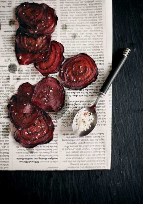 // beet chips: Roasted Beet, Beetroot Recipes, Beetroot Crisps, Food Styling, Food Photography, Beet Crisps
