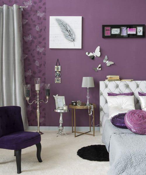 55 Purple Interior Design Ideas Purple Room Photos Purple Bedroom Decor Purple Rooms Purple Master Bedroom