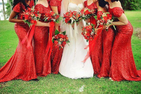 wedding-in-australia-sydney-photogrpher-australian-photographer (13) #sequin #sequinbridesmaids #redbridesmaids #sequin-dresses #redwedding
