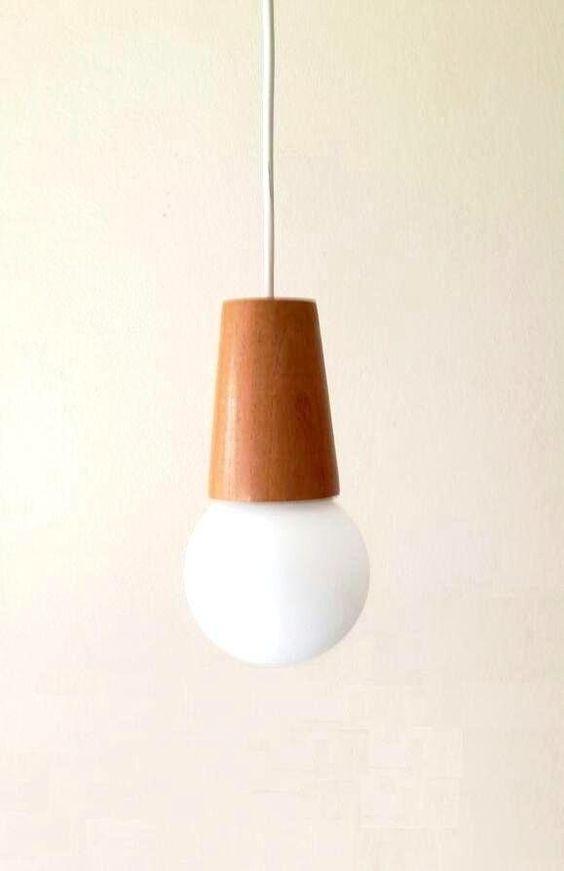 lampara madera colgante escandinava nordica para globo en