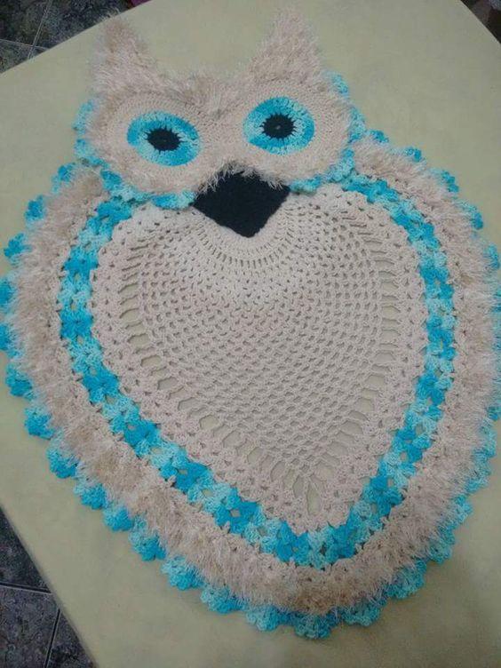 Cantinho Harmônico Do Crochê: CORUJINHAS