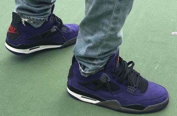 How Do You Like The Travis Scott x Air Jordan 4 Purple