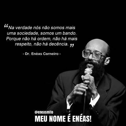 Enéas Ferreira Carneiro foi um médico cardiologista, matemático, físico e político brasileiro. Como político, fundou o extinto Partido de Reedificação da Ordem Nacional, o PRONA #eneas #eneascarneiro #motivacao #eneascarneiromotivacao #melhoresreflexaoescomeneascarneiro #reflexaocomeneascarneiro #eneasmotivacao #eneasosentidodavida #osentidodavida #reflexao