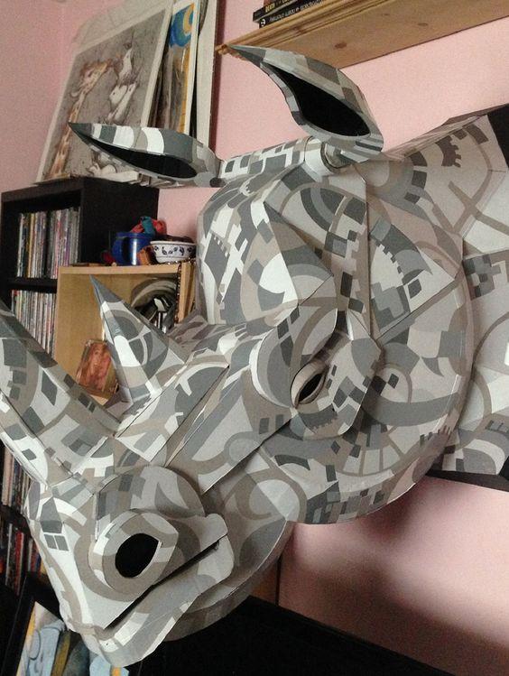 Rhino Mask Original by John Park