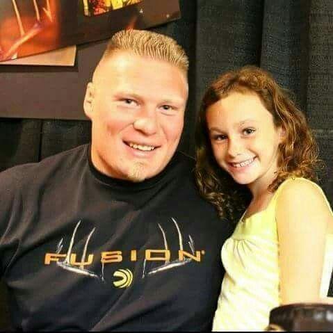 Brock Lesnar & Daughter   Wwe Family   Pinterest ...