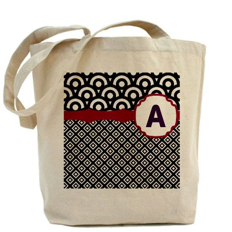 Diamond Circle Tote Bag on CafePress.com