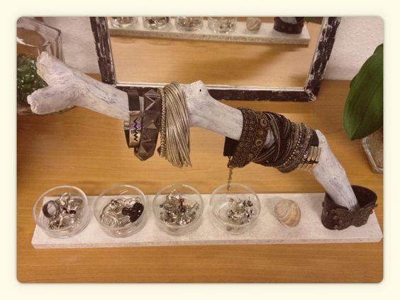 Organizador de pulseras, anillos y pendientes