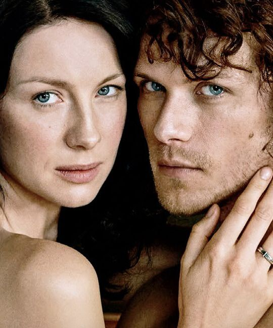 Caitriona Balfe & Sam Heughan | Entertainment Weekly 2016