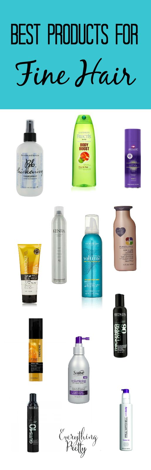 Best Styling Products For Fine Hair Best Hair Products For Fine Hair  Fine Hair Hair Style And Makeup