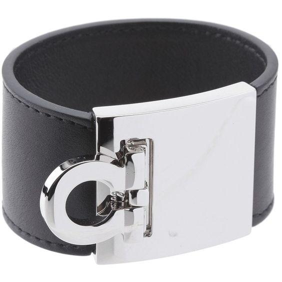 Salvatore Ferragamo Gancini Cuff Bracelet `