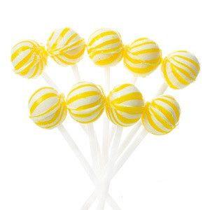 Banana Petite Sassy Spheres Suckers | 5lb