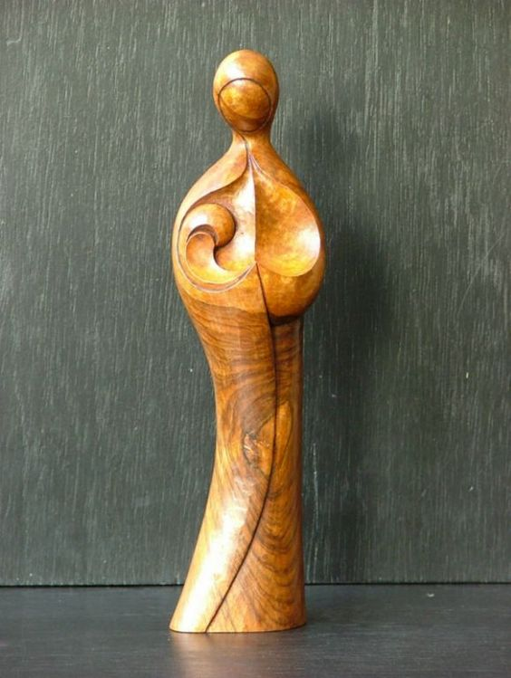 Sculptures et statues contemporaines philippe gilbert art sur bois bois pinterest - Sculptures modernes contemporaines ...