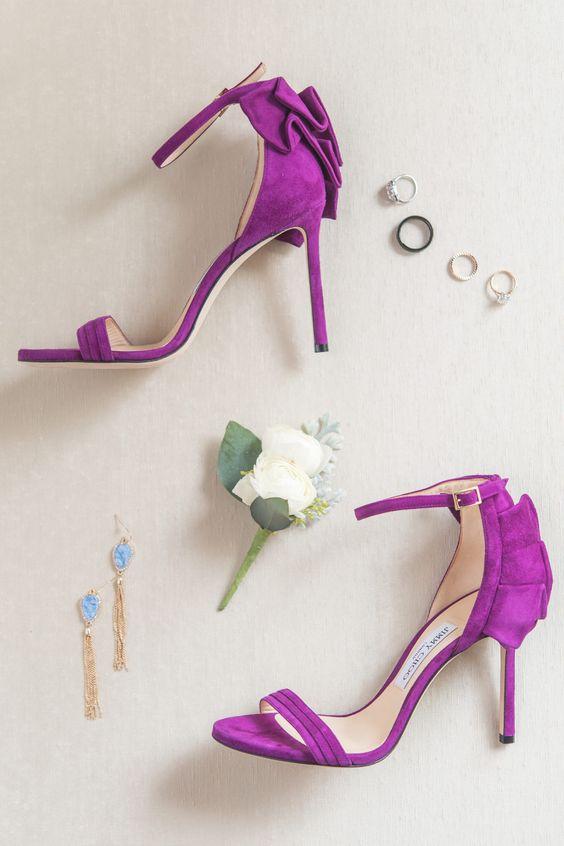 Colored Bride Shoes