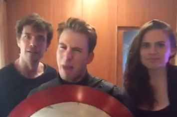 Hayley Atwell Recruited Chris Evans For The Best Dubsmash Of Them All