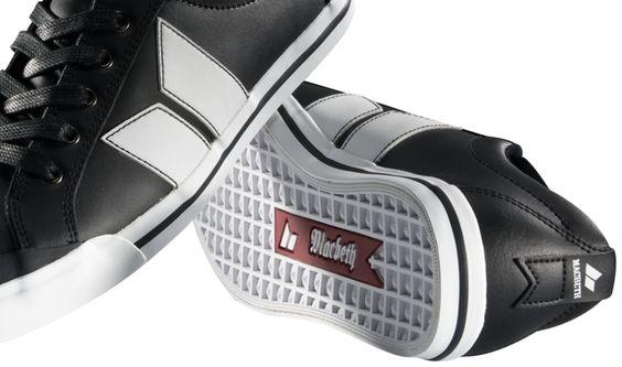 Macbeth Shoes   Elliot Premium Black & White