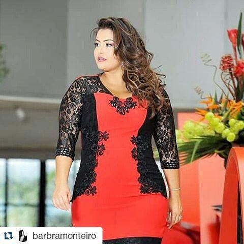 #StyleNCurve featured model @barbramonteiro ・・・ #babimonteiro #plussize #model #shoot #foto #plussize #curvemodel #curves #curvy #modagrande #tallasgrandes #brasil #curverock #deboraplussize