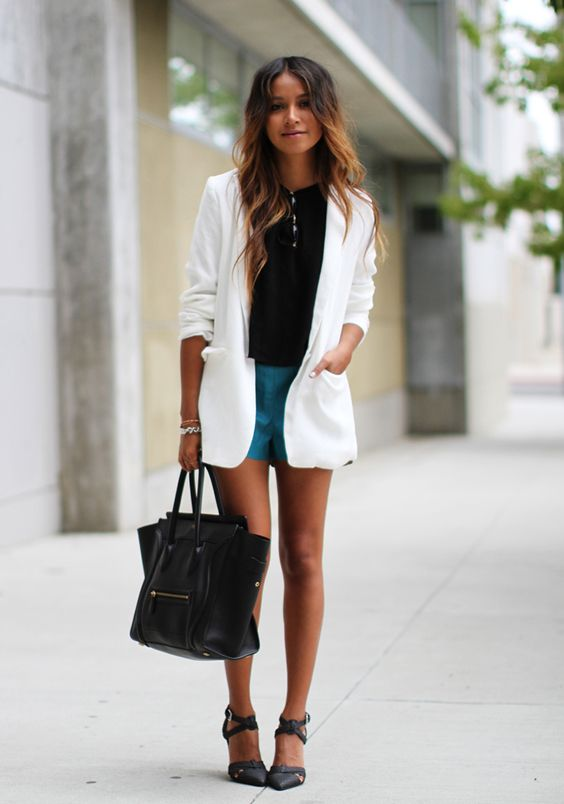 how much are celine bags - All clothing via Nordstrom: Blazer: Tildon Crop top: ASTR Shorts ...