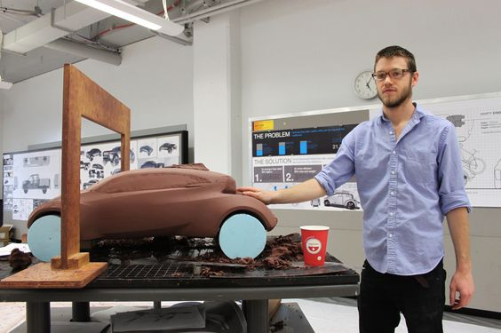 https://flic.kr/p/byrrKE | Marty Coons | Work in progress: Senior automotive design studio sponsored by EcoMotors.