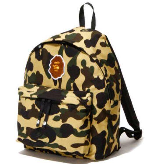 Backpacks and cleanses on pinterest for Bape x porter backpack