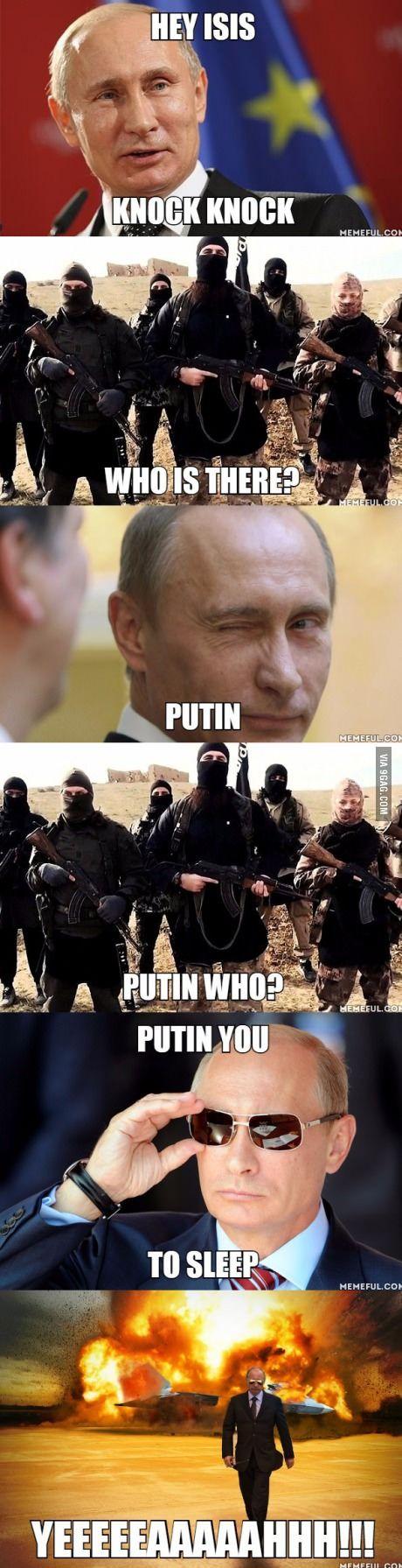 Original and creative title that describes Putin's badassery: