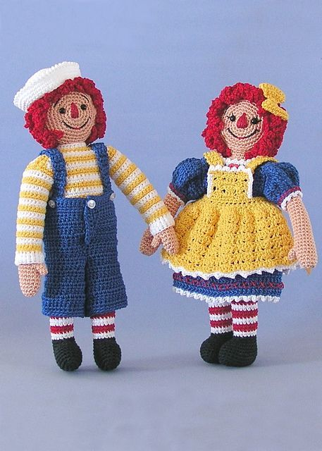 Amigurumi Cute Doll Free Crochet Pattern em 2020 | Boneca ... | 640x457