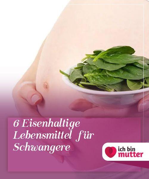 Eisenreiche Ernährung für Schwangere