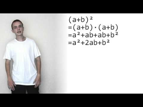Binomische Formeln (Mathe-Song) - YouTube