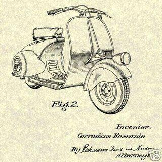 D'ascanio design.