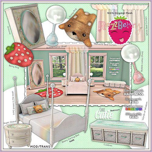 RazzBerry Inc - Chic Cutie Bedroom | by RazzBerryInc.