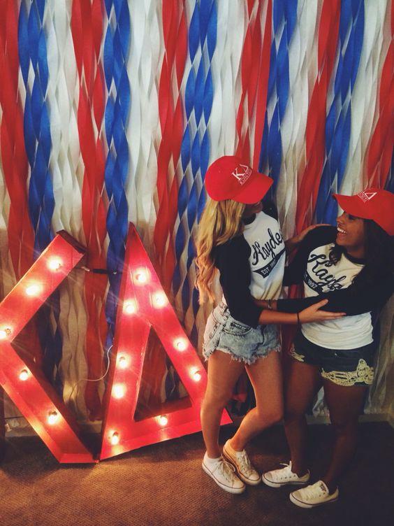 Kappa Delta Bid Day