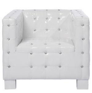 Fotel Shining Cube White Kare Design 74742 Kat Ii Planeta Design Meble Designerskie