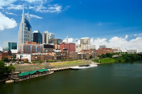 ResorTime.com's Photo of the Day! The Nashville Skyline in Nashville, Tennessee