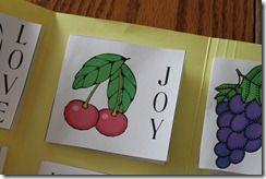 fruit of the spirit lap book.