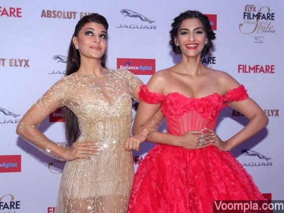 Best friends Sonam Kapoor Jacqueline Fernandez friendship
