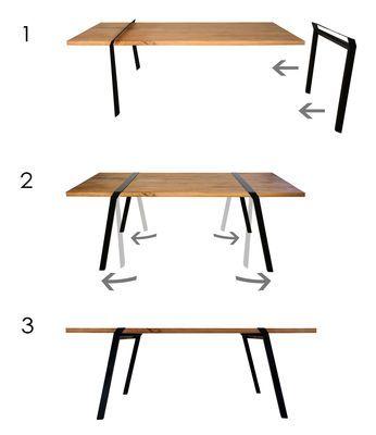 Table Pi / L 180 cm - Pour l'intérieur -Moaroom