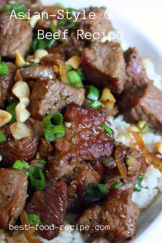 Asian-Style Garlic Beef Recipe