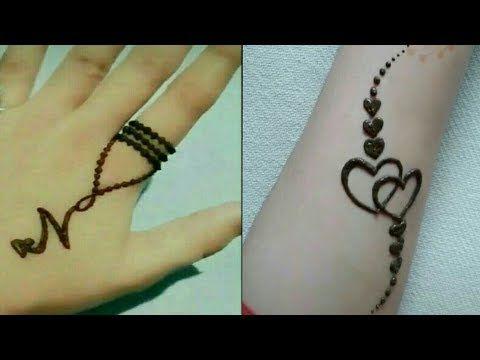 Tattoo Mehndi Design For Hand Henna Tattoo Design Beautiful Mehndi Fashion Clock Youtube Infinity Bracelet Jewelry Bracelets