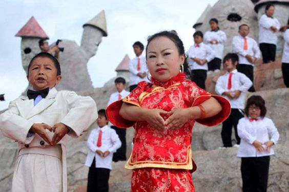 WORLD'S STRANGEST TOWNS Dwarf Town, China  This curious mountain commune in Kunming, Southwest China has become a safe haven for Chinese dwarves who live and perform at the theme park, Kingdom of the Little People. Dwarf Town may seem an insensitive place to visit, but its residents, who are no taller than four and a half feet, have said that it has helped them escape discrimination. It is overseen by an emperor, an empress and a parliament and each day the 120 residents put on a show for…