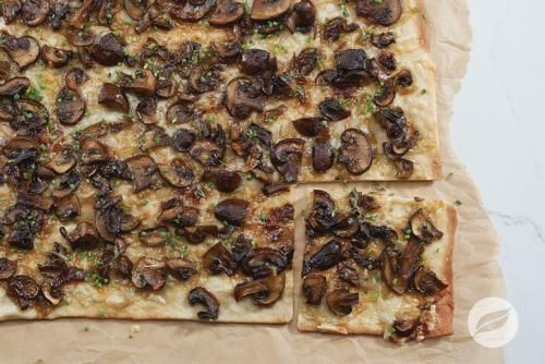 Wildtree's Mushroom Flatbread Recipe