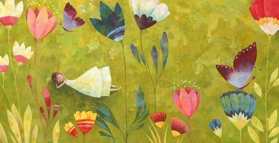 Hello,May! Художник - иллюстратор Aurelie Blanz. Обсуждение на LiveInternet…: