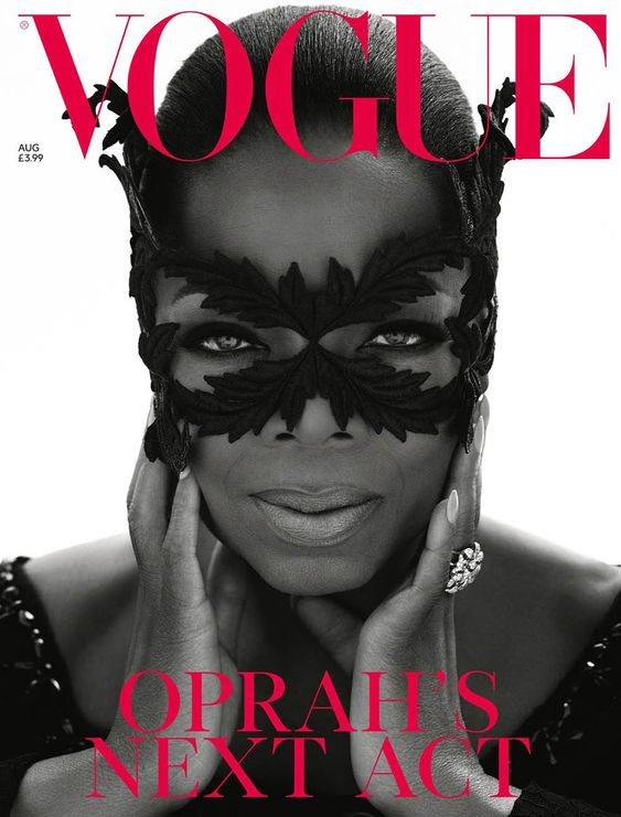 Oprah Winfrey covers British #Vogue August 2018 by Mert & Marcus