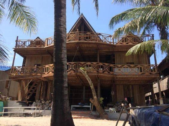 Kiến trúc độc đáo ở Green Ocean Guesthouse