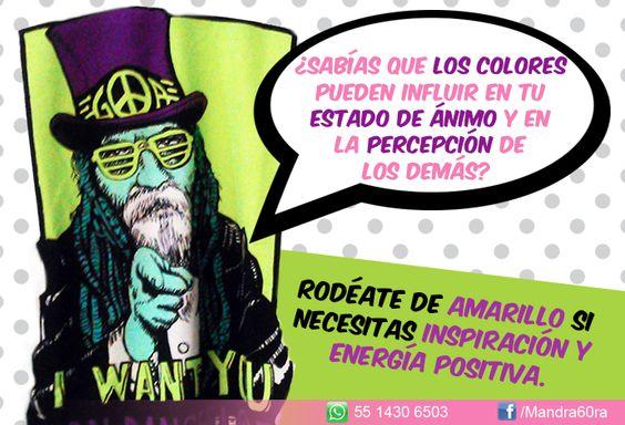 Los #colores y su importancia en nuestro #ánimo. #TipsMandrá6ora #Mandrá6oraComercializadora #Ropa