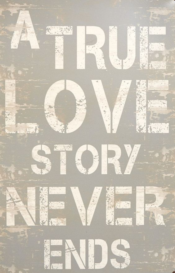 a true love story never ends great gifts pinterest