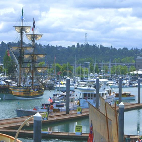 Port Angeles, WA!! This Harbor Is INCREDIBLE!!