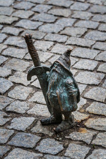 Wroclaw's dwarfs collection - Dwarf the Knight, Wroclaw, Poland