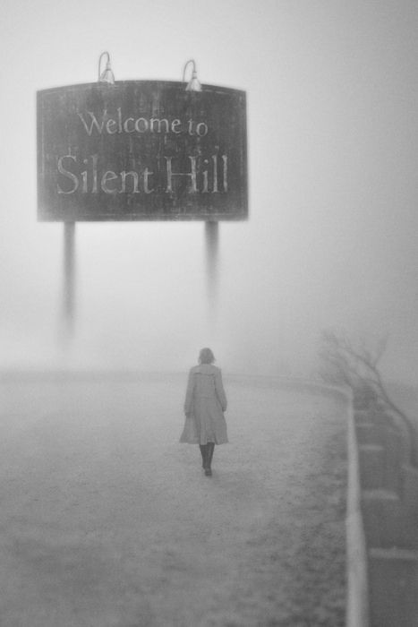 """""""Silent Hill"""" - A woman goes in search for her daughter, within the confines of a strange, desolate town called Silent Hill. Based on the video game. Those pyramid-head things creep me out big time! Photo and info credit: IMDb."""